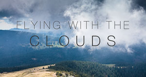 Videó: Flying with the clouds